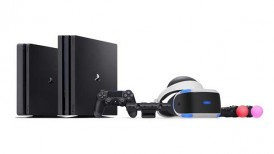 PS4 Slim, PS4 Pro, DualShock 4, PS Camera, vertical stand, Platinum Wireless Headset, Sony