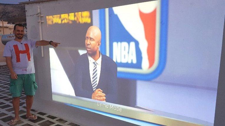 NBA2Κ και Μουντιάλ σε 200 ίντσες στη ταράτσα (VLOG #40)