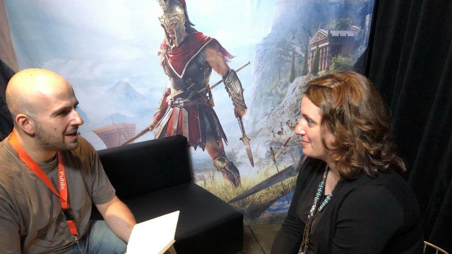 E3 2018: Συνέντευξη με την audio director του Assassin's Creed Odyssey