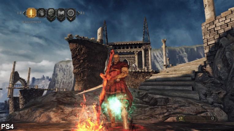 Dark Souls 2 Digital Foundry PS4 Vs PC Image 8