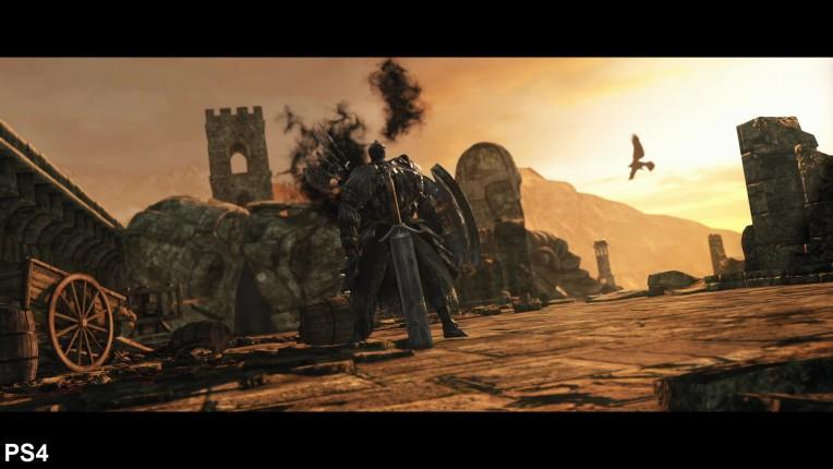 Dark Souls 2 Digital Foundry PS4 Vs PC Image 2