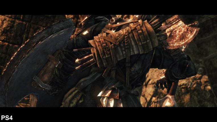 Dark Souls 2 Digital Foundry PS4 Vs PC Image 3