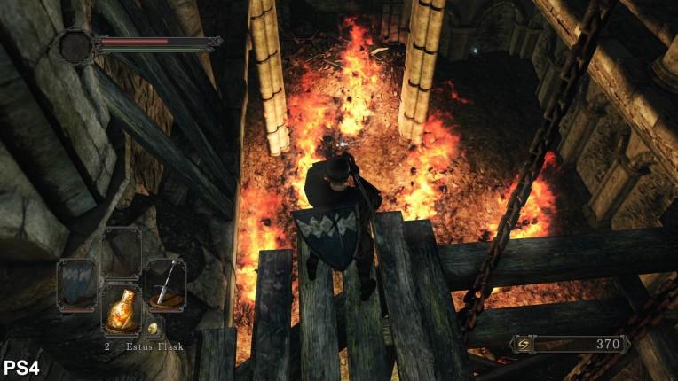 Dark Souls 2 Digital Foundry PS4 Vs PC Image 4