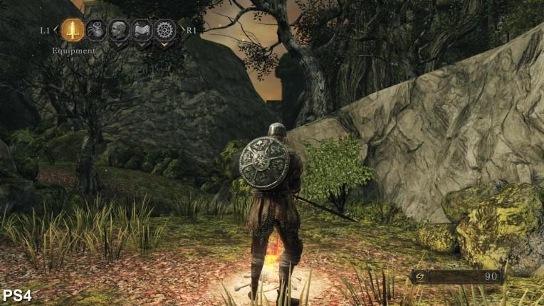 Dark Souls 2 Digital Foundry PS4 Vs PC Image 6