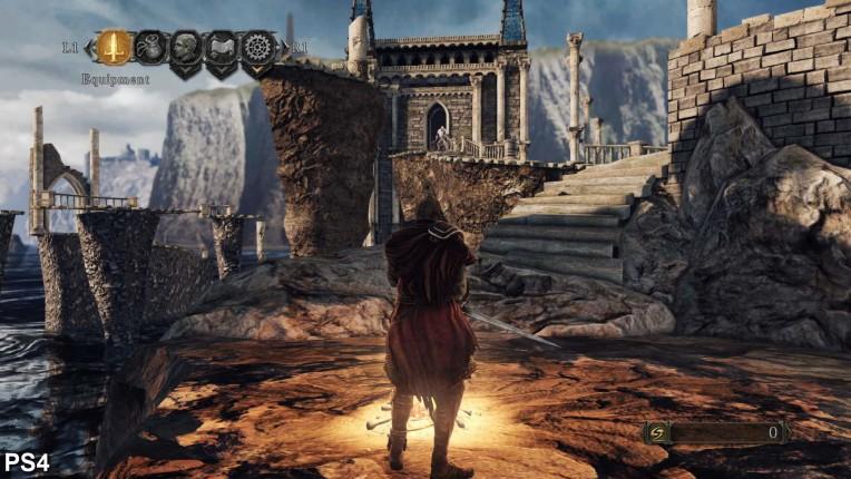 Dark Souls 2 Digital Foundry PS4 Vs PC Image 7
