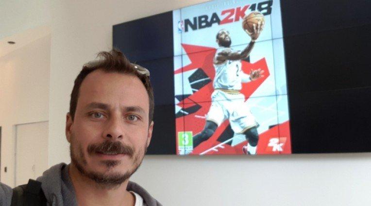 Στο Λονδίνο για το NBA 2K18