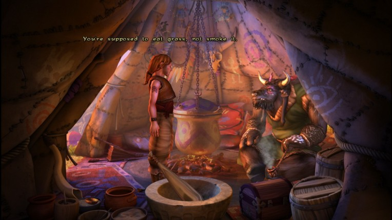 The Book of Unwritten Tales Image 05