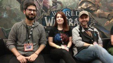 BlizzCon 2017 World of Warcraft interview
