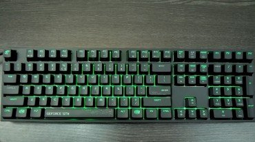 CoolerMaster MasterKeys Pro L GeForce GTX Edition Review