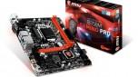msi, b150, board, skylake, motherboard, micro atx, gaming B150M Gaming Pro