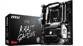 motherboard, MSI Z170, krait gaming, intel z170 chipset, core i5 6600k, MSI Z170 Krait review, MSI Z170 review