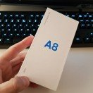 Νεο @samsunggreece #smartphone. Το Galaxy A8 ηρθε στα χερια μας μετα απο τη σχετικη παρουσιαση της @wind_hellas. #review #incoming #dualcamera