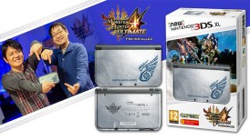 Monster Hunter 4 Ultimate, Monster Hunter 4 Ultimate New 3DS XL, Monster Hunter 4 Ultimate New 3DS XL bundle, New 3DS XL