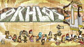 Okhlos, Okhlos gameplay, Okhlos Devolver Digital, Devolver Digital, Coffee Powered Machine