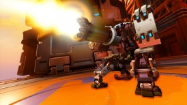 The Last Bastion, Overwatch The Last Bastion, Overwatch, Bastion, Blizzard