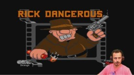 Rick Dangerous, retro gaming, gameplay, σχολιασμός, amiga 500, lets play, retro