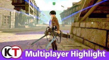 Με έμφαση στο multiplayer το νέο trailer για το Attack on Titan 2