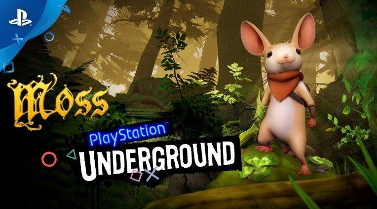 Χορταστικό gameplay video για το Moss
