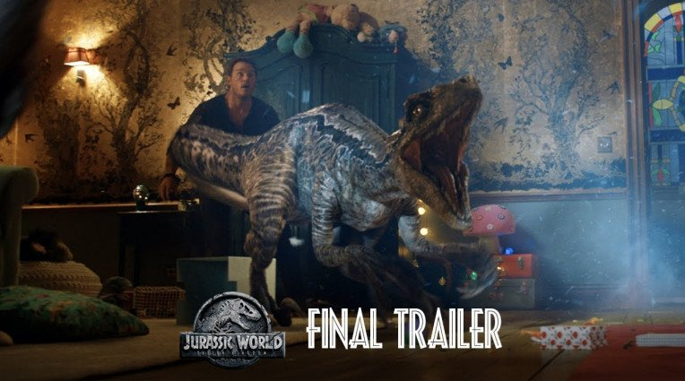 Τελικό trailer για το Jurassic World: Fallen Kingdom