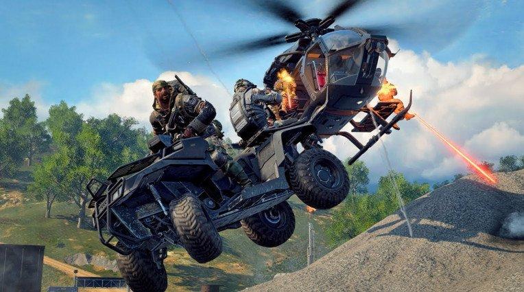 Σίδερο και φωτιά στο Blackout mode του Call of Duty: Black Ops 4
