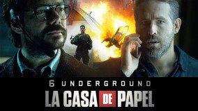 """Ryan Reynolds (6 Undergrounds) και Professor (La Casa De Papel) σε """"τρελό"""" σποτάκι του Netflix"""