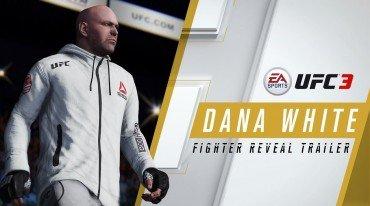 O Dana White playable χαρακτήρας στο EA Sports UFC 3
