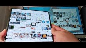 Video δείχνει πως το Huawei Mate X2 συνδέεται με το Huawei Matebook laptop
