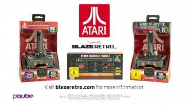 Η Atari ανακοίνωσε τα Retro Handheld και Plug & Play Joystick