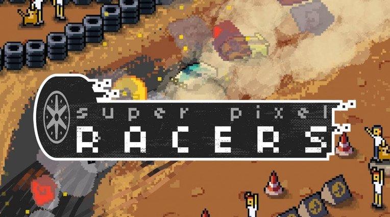 Announcement trailer για το Super Pixel Racers