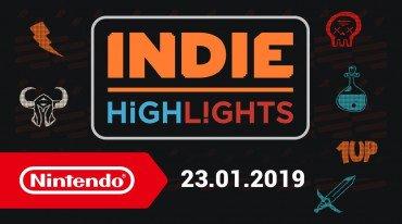 Σε εννέα τίτλους επικεντρώθηκε το Nintendo Indie Highlights