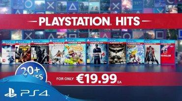 Η Sony Interactive Entertainment ανακοίνωσε τα PlayStation Hits