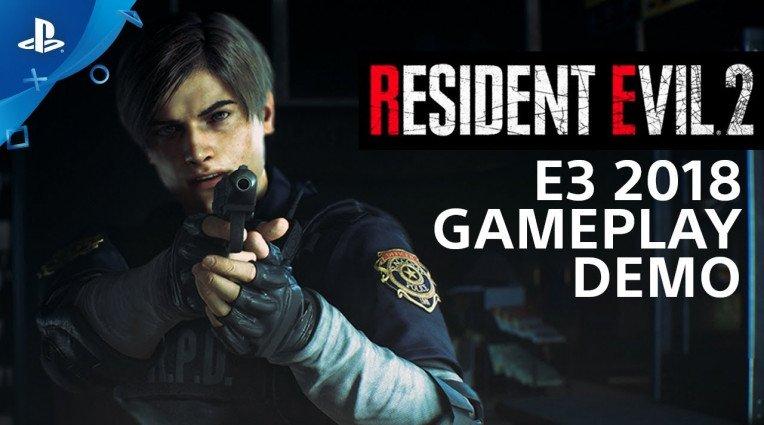 E3 2018: Gameplay demo για το remake του Resident Evil 2