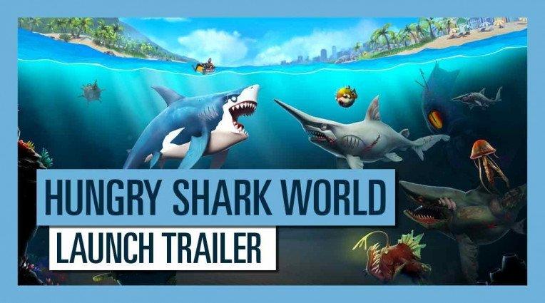 Διαθεσιμο για κονσόλες το Hungry Shark World