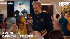 Το πρώτο trailer για τη sci-fi κωμωδία Avenue 5 του HBO