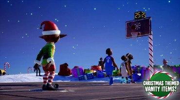Χριστουγεννιάτικο, δωρεάν DLC για το NBA 2K Playgrounds 2