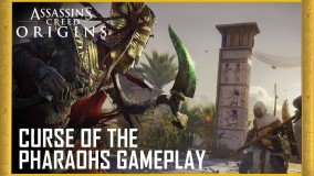 Πληροφορίες για το Curse of the Pharaohs DLC του Assassin's Creed Origins