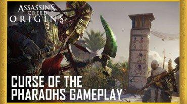 Πληροφορίες για το Curse of the Pharaohs DLC του Assassin's Creed Origins