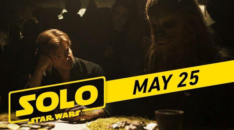 Τηλεοπτικό σποτ για την ταινία Solo: A Star Wars Story