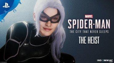 Νέες περιπέτειες για τον Spider-Man στο The Heist DLC