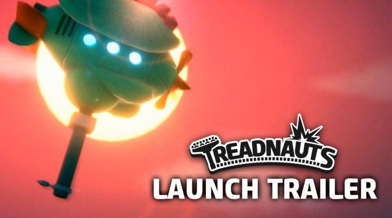 Launch trailer για το Treadnauts