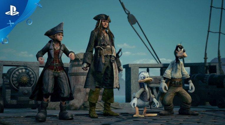 E3 2018: Οι Πειρατές της Καραϊβικής στο Kingdom Hearts III