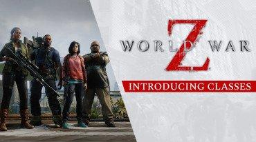 Παρουσίαση των classes του World War Z