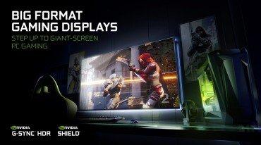 Monitors 65 ιντσών με ανάλυση 4Κ και G-SYNC από την NVIDIA