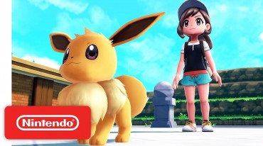 Καινούργιο trailer για τα Pokémon: Let's Go, Pikachu! και Let's Go, Eevee!