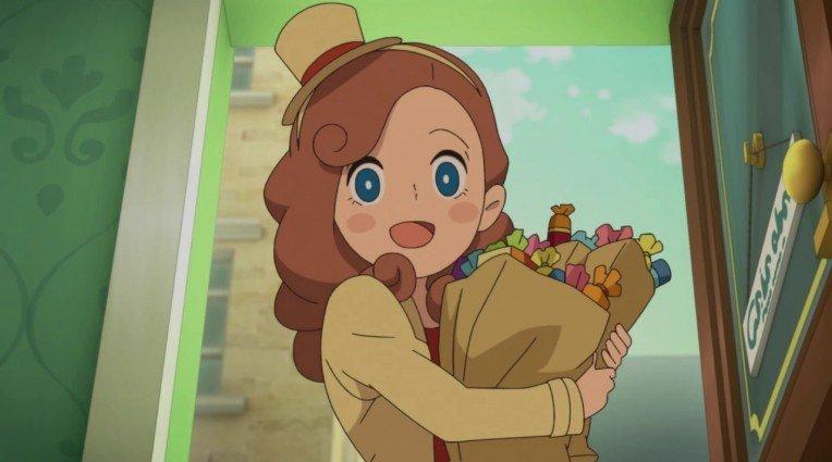 Trailer για το anime Layton Mystery Detective Agency