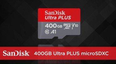 MicroSD κάρτα από τη SanDisk στα 400GB