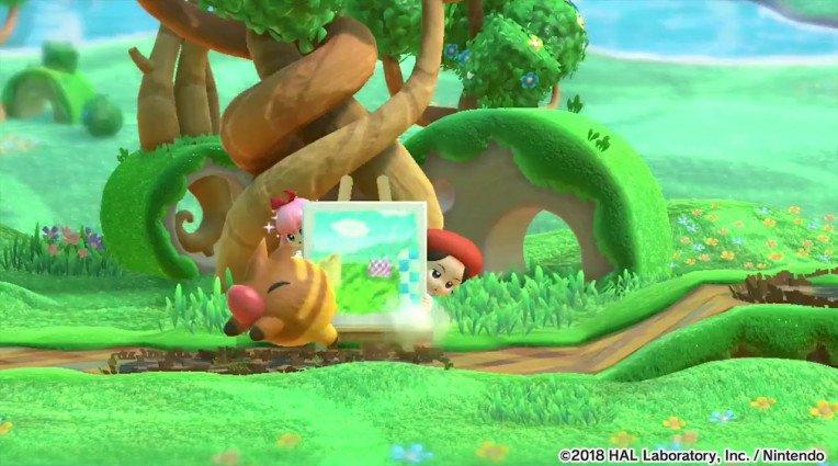 Trailer με τους Adeleine και Ribbon για το Kirby: Star Allies