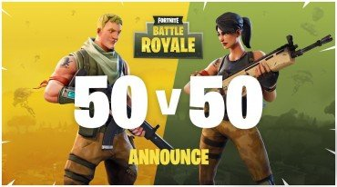 50 vs 50 στο Fortnite Battle Royale