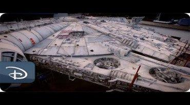 Τρία βίντεο για το Star Wars attraction της Disney