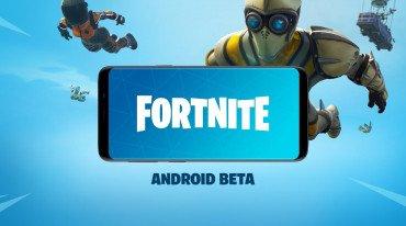 Σε συσκευές Android το Fortnite